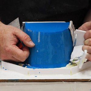 De-moulding the Prosthetic Moulds