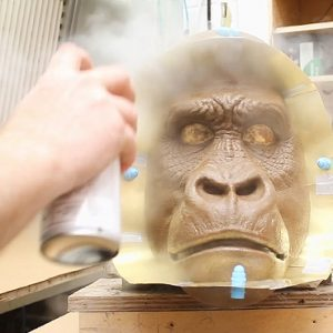 MO021 Mountain Gorilla - Preparing the Sculpture for Moulding 1