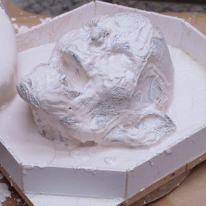 Half-Mask-Moulding-The-Sculpture-in-Plaster