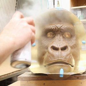 MO021-Mountain-Gorilla-Preparing-the-Sculpture-for-Moulding-1-600x370
