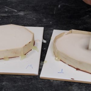 Making Flat Moulds Using Plaster