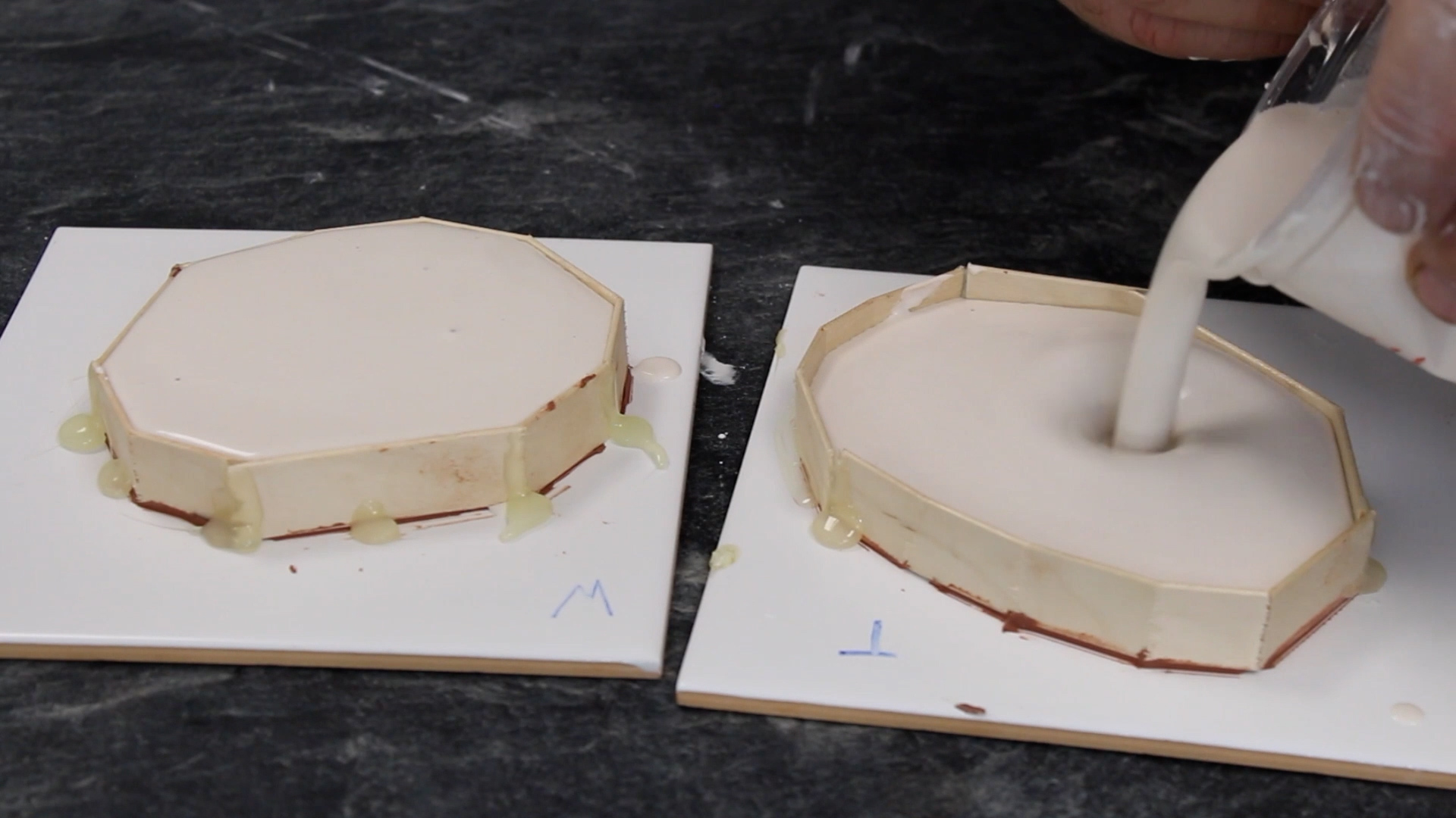 Making Flat Moulds Using Plaster